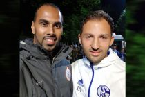 Chris Punnakkattu Daniel and Domenico Tedesco. (© CPD Football)