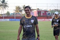 India U-23 head coach Derrick Pereira. (Photo courtesy: AIFF Media)