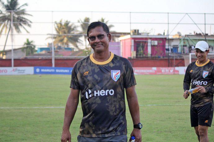 India U-23 head coach Derrick Pereira. (Photo courtesy: AIFF Media)
