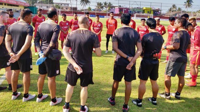 India U-23 national team camp. (Photo courtesy: AIFF Media)