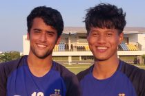 Chennaiyin FC B goalscorers Krishna Pandit and Bawlte Rohmingthanga. (Photo courtesy: Chennaiyin FC)