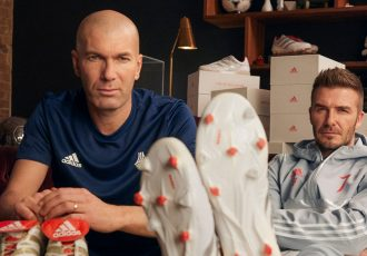 adidas celebrates 25 years of the Predator with Zinedine Zidane and David Beckham. (Photo courtesy: adidas)