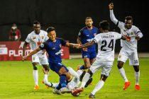 AFC Cup match action between Chennaiyin FC and Colombo FC. (Photo courtesy: Chennaiyin FC)