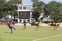 AFC Cup match action between Colombo FC and Chennaiyin FC. (Photo courtesy: Chennaiyin FC)