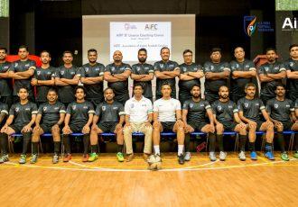 Participants of the AIFF/AIFC D-License Course in Dubai. (Photo courtesy: AIFF Media)