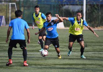 Bengaluru FC B team training session. (Photo courtesy: Bengaluru FC)