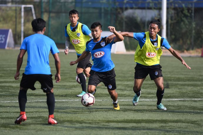 Bengaluru FC B team training session. (Photo courtesy: Bengaluru FC)