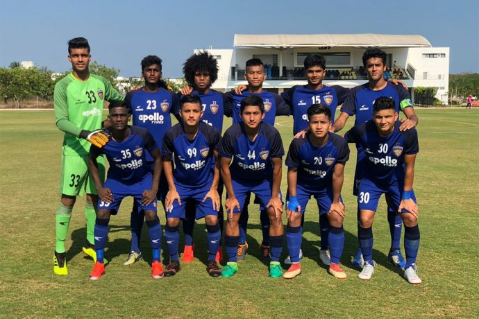 The Chennaiyin FC B team. (Photo courtesy: Chennaiyin FC)