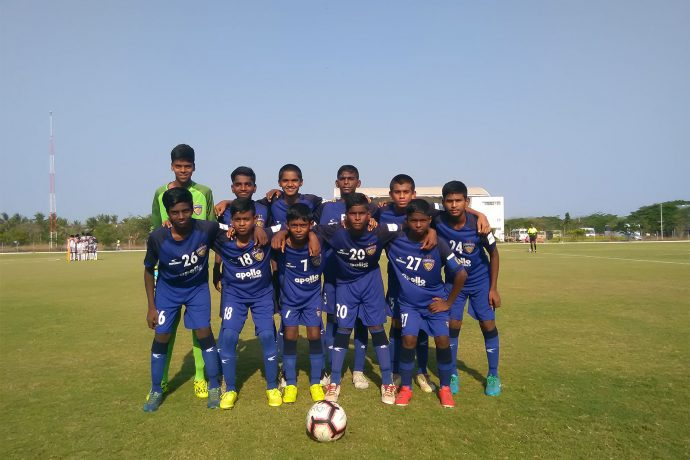 The Chennaiyin FC U-13 team. (Photo courtesy: Chennaiyin FC)
