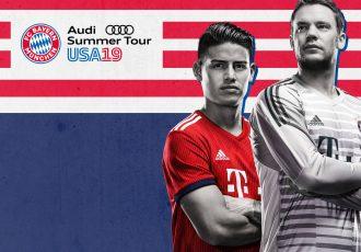 FC Bayern Audi Summer Tour USA 2019. (Image courtesy: FC Bayern München)