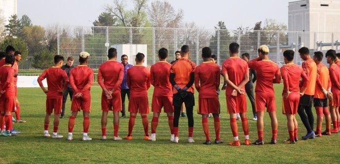 The India U-23 national team. (Photo courtesy: AIFF Media)