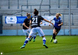 DSC Arminia Bielefeld Kapitänin und Co-Trainerin Maxine Birker (© MB Photography - Marc Beckamp)