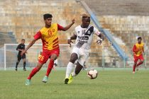 Hero 2nd Division League match action between Mohammedan Sporting Club and Rainbow Athletic Club. (Photo courtesy: Mohammedan Sporting Club)