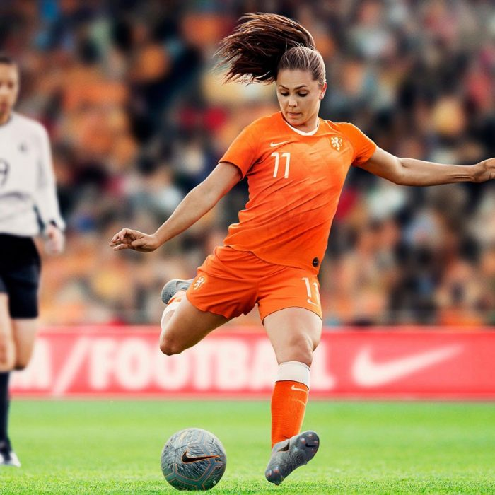 Lieke Martens in the Netherland's new home kit. (Photo courtesy: Nike)