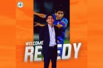 Former India captain Renedy Singh appointed new NEROCA FC head coach. (Image courtesy: NEROCA FC)