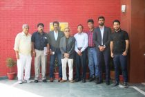 Members of the AIFF Technical Committee at the Football House. (Photo courtesy: AIFF Media)