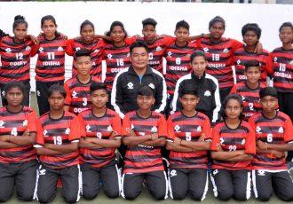 The Odisha Junior State Girls Team. (Photo courtesy: Football Association of Odisha)