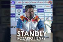 Aizawl FC head coach Stanley Rozario. (Image courtesy: Aizawl FC via Twitter)