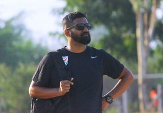 India U-19 Women's national team head coach Alex Ambrose. (Photo courtesy: AIFF Media)