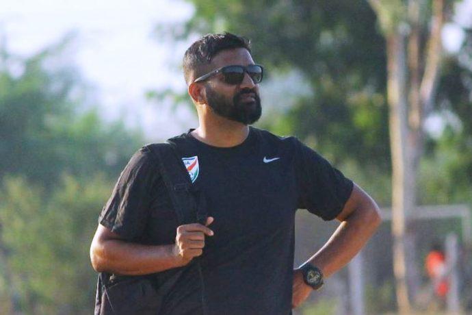 India U-19 Women's national team head coach Alex Ambrose. (Photo courtesy: AIFF Media)