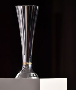 The Audi Cup trophy. (Photo courtesy: AUDI AG)