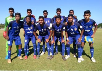 The Chennaiyin FC U-15 team. (Photo courtesy: Chennaiyin FC)