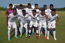 The Chennaiyin FC U-15 team before their Hero Junior League match. (Photo courtesy: Chennaiyin FC)