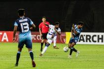 Chennaiyin FC forward CK Vineeth in action against Minerva Punjab FC in the 2019 AFC Cup. (Photo courtesy: Chennaiyin FC)
