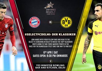 "The ""Select FC Screening"" at the Yes Minister Bowling Bar & Kitchen in New Delhi will be organised by the Bundesliga and Star Sports. (Image courtesy: Bundesliga)"
