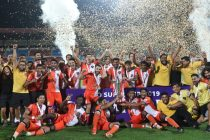 Hero Super Cup 2019 champions FC Goa. (Photo courtesy: AIFF Media)