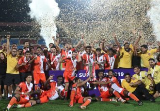 Hero Super Cup 2019 champions FC Goa. (Photo courtesy: AIFF Media)