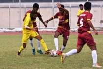 Hero Santosh Trophy match action. (Photo courtesy: AIFF Media)
