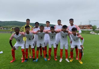 The India U-15 national team at the Torneo delle Nazioni Città di Gradisca d'Isonzo in Italy. (Photo courtesy: AIFF Media)