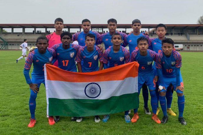 India U-15 national team. (Photo courtesy: AIFF Media)