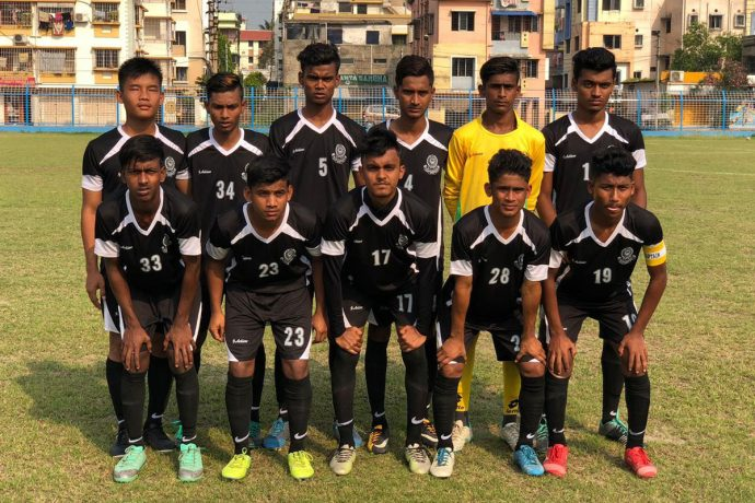 The Mohammedan Sporting Club U-15 team. (Photo courtesy: Mohammedan Sporting Club)