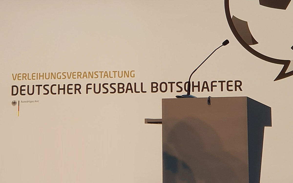 Deutscher Fussball Botschafter Awards Ceremony 2019 at the German Federal Foreign Office (Auswärtiges Amt) in Berlin. (© CPD Football)