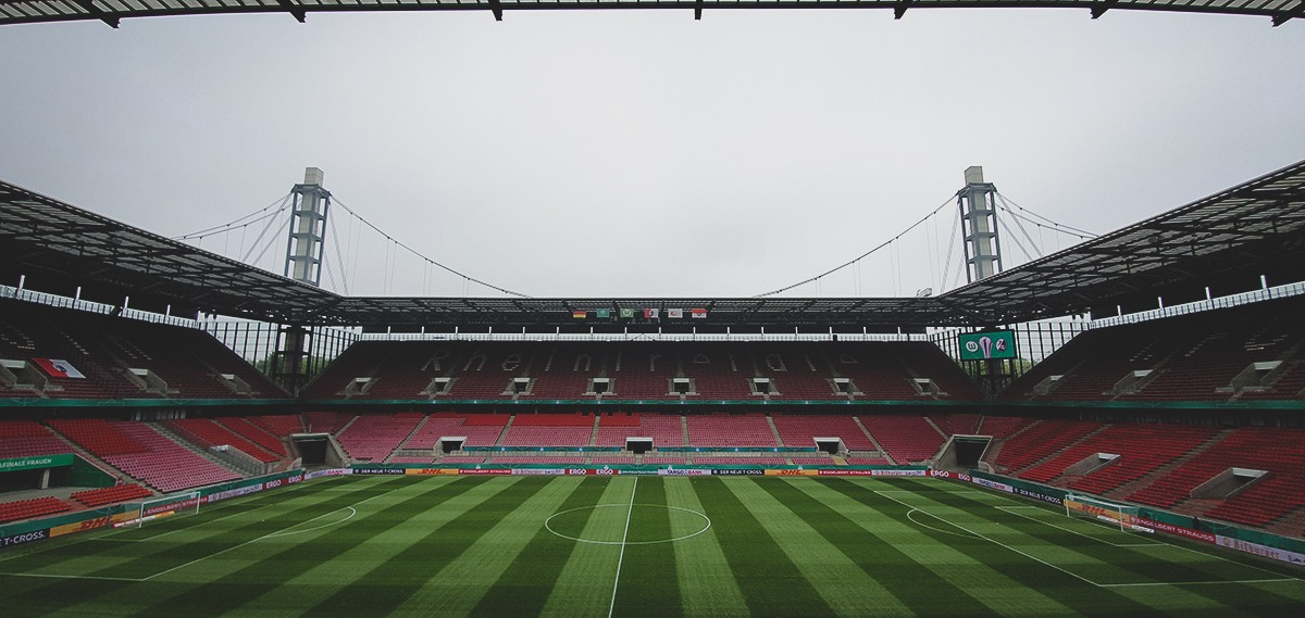 The RheinEnergieSTADION in Cologne, venue of the DFB-Pokal der Frauen (German Women's Cup) final and home of 1. FC Köln. (© CPD Football)