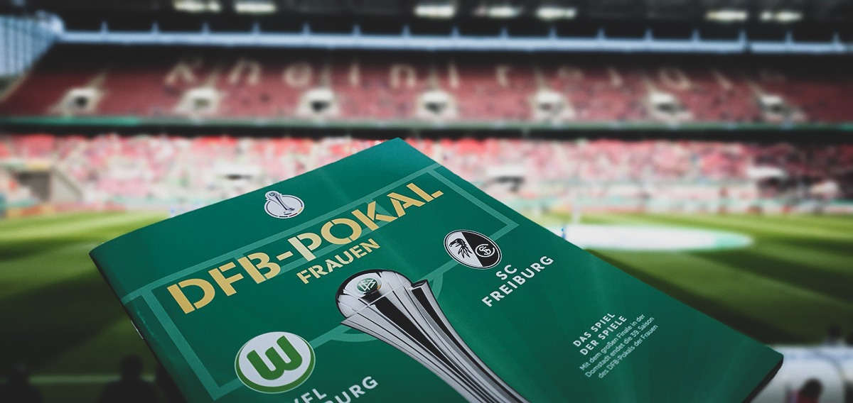 DFB-Pokal der Frauen (German Women's Cup) final between VfL Wolfsburg and SC Freiburg. (© CPD Football)
