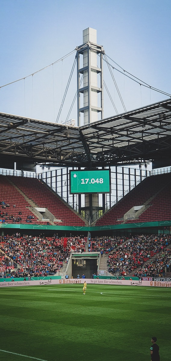 Attendance for the DFB-Pokal der Frauen (German Women's Cup): 17,048. (© CPD Football)