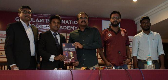Gokulam Kerala FC and Football Plus enters into partnership to establish international academy. (Photo courtesy: Gokulam Kerala FC)
