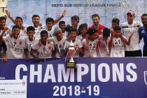 2019 Hero Sub-Junior League (U-13) champions Reliance Foundation Young Champs (RFYC). (Photo courtesy: AIFF Media)