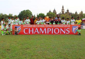 Hero Junior Girls' National Football Championship winner Himachal Pradesh. (Photo courtesy: AIFF Media)