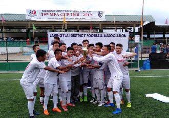 19th MFA Cup champions Aizawl FC Juniors. (Photo courtesy: Mizoram Football Association)