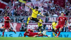 Bundesliga match against between FC Bayern Munich and Borussia Dortmund. (Photo courtesy: Bundesliga)