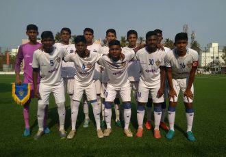 The Chennaiyin FC U-15 team. (Photo courtesy: Chennaiyin FC)