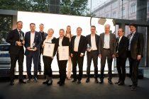 Deutscher Fussball Botschafter (German Football Ambassador) Award Ceremony 2019 at the German Federal Foreign Office in Berlin. (Photo courtesy: Deutscher Fussball Botschafter)