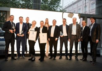 Deutscher Fussball Botschafter (German Football Ambassador) Award Ceremony 2019 at the German Federal Foreign Office in Berlin. (Photo courtesy: Deutscher Fussball Botschafter)