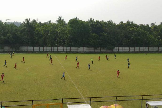 Hero Junior League match action between Minerva Punjab FC and Aizawl FC. (Photo courtesy: Minerva Punjab FC)