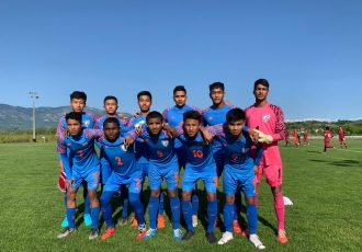 The India U-15 national team at the Torneo delle Nazioni Città di Gradisca d'Isonzo. (Photo courtesy: AIFF Media)