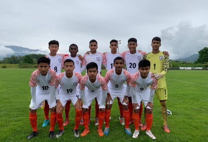 The India U-15 national team at the Torneo delle Nazioni Città di Gradisca d'Isonzo. (Photo courtesy: AIFF Media)